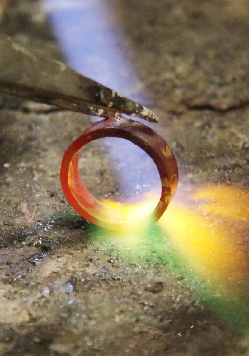 fusione oro usato metissage laboratorio orafo