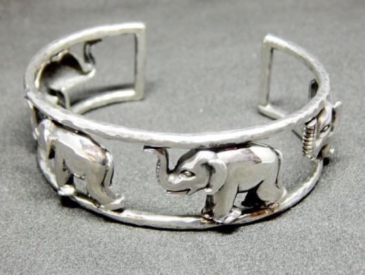 bracciale elefantini metissage
